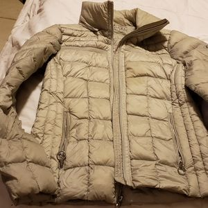 Michael kors packable jacket with hood